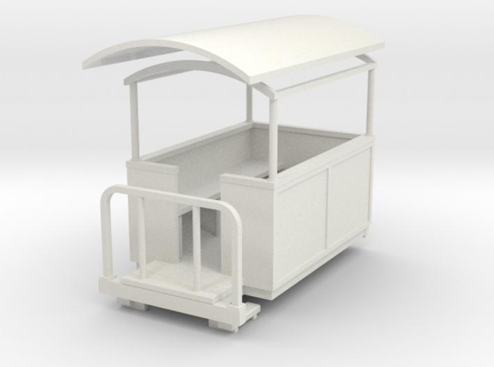 Sn2 short semi-open coach 3d printed