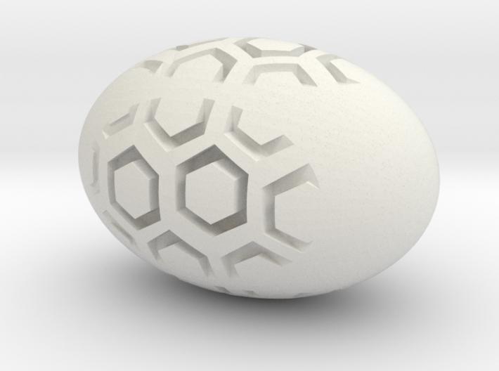 Hex Egg 3d printed