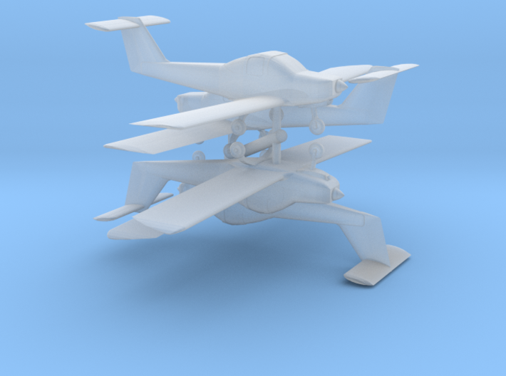 Piper Tomahawk Set - Z scale 3d printed