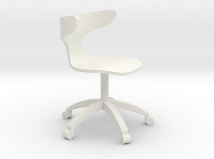 1:24 Curved Bentwood ArmChair (Not Full Size) 3d printed
