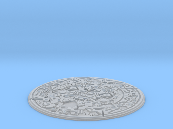 Smaller Aztec Medallion 3d printed