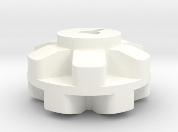 Pololu 6 Cog Wheel For Motor 3d printed