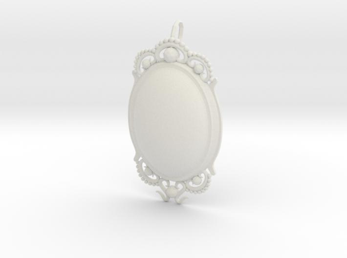 Opal PENDANT 3d printed