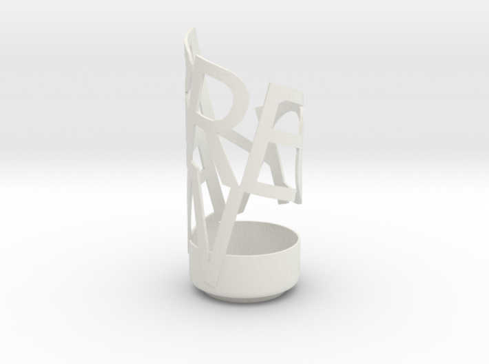 Light Poem 1 3d printed