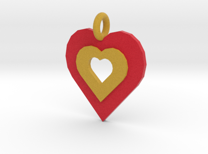heart of gold 3d printed