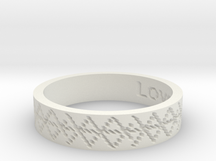 by kelecrea, engraved: Love and Passion 3d printed
