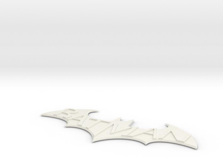 Batman Arkham City Logo 3d printed
