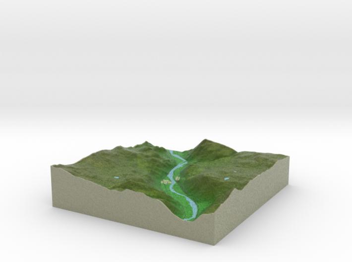 Terrafab generated model Fri Feb 07 2014 00:09:29 3d printed