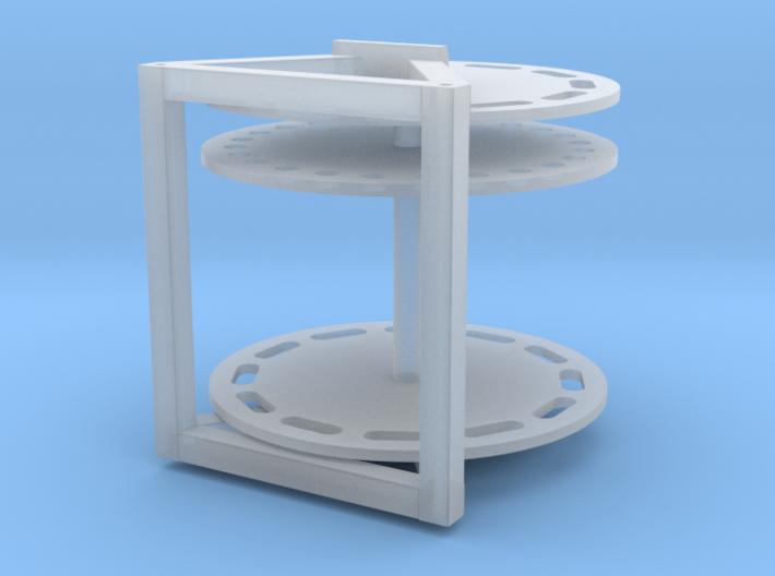 BAA-Haspel tbv Fennek NLD 3d printed