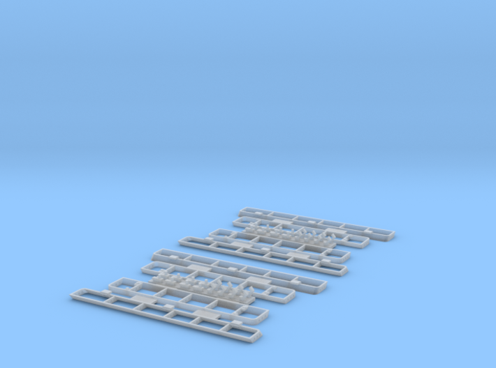 1:35 T-34 Grills Late 3d printed