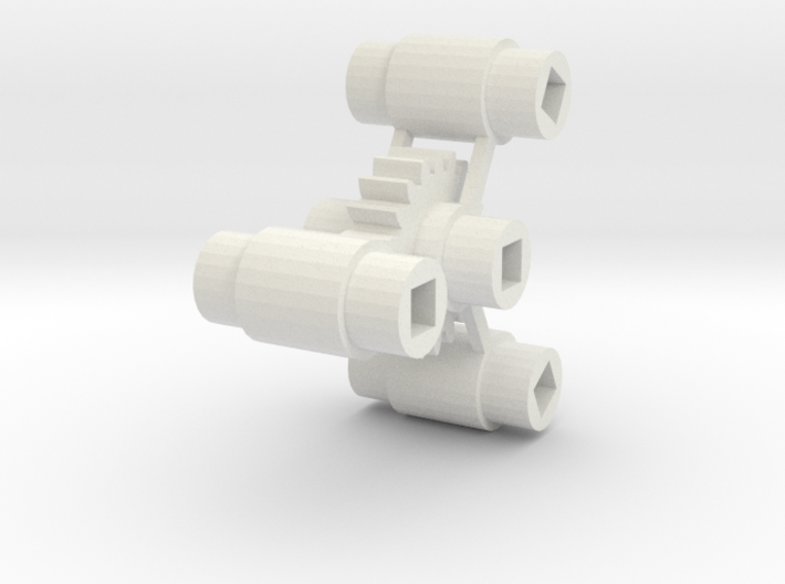 Replacement for Bachmann HO 4-8-4 Axle Centers 3d printed