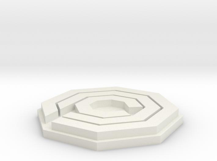 OCP Logo (Robo Cop) 3d printed