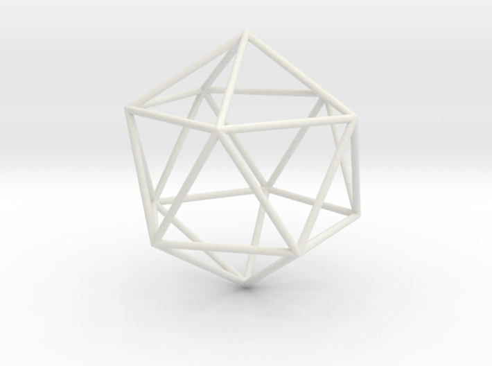 Icosahedron 100mm 3d printed