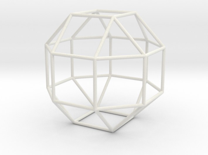 SmallRhombicuboctahedron 100mm 3d printed