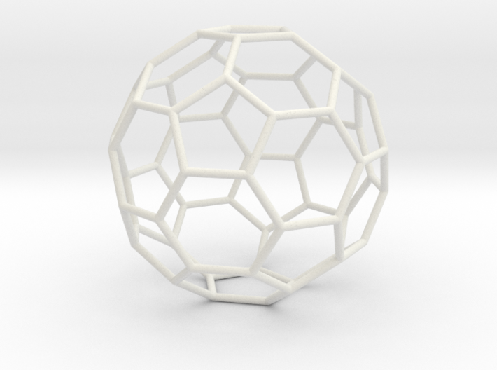 TruncatedIcosahedron 100mm 3d printed
