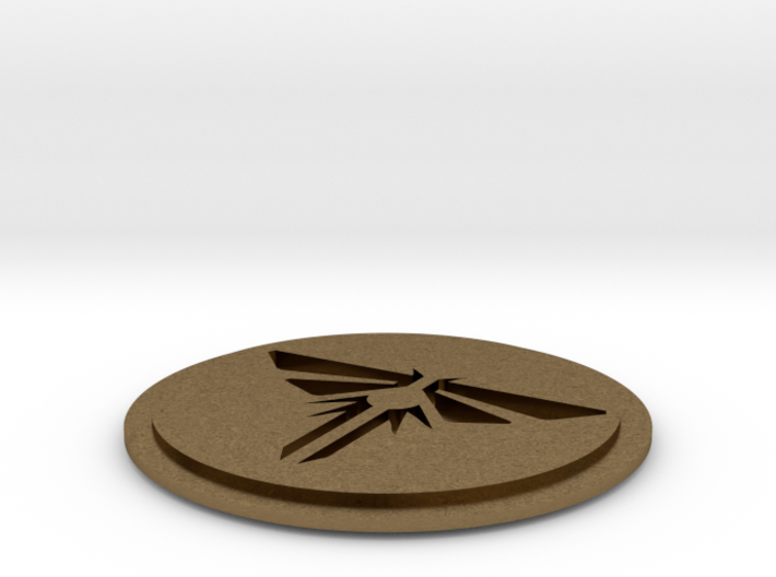 """The Last of Us Firefly pin 3/4"""" Dia. 3d printed"""