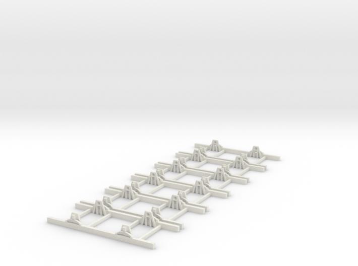 Sn2 Underframe 6ft wb x6 3d printed