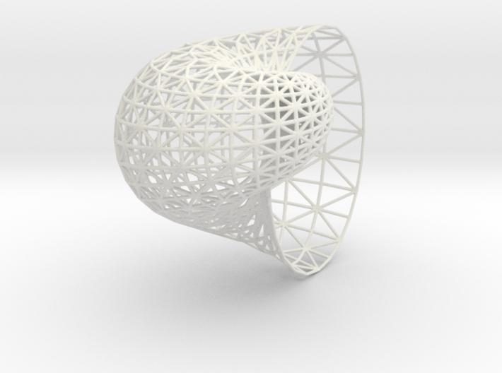 Shell mesh 3d printed