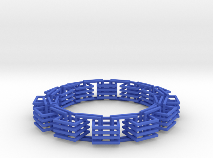 Square Links Chain 3d printed