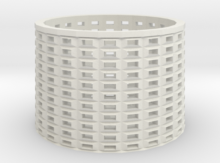 peg basket 3d printed