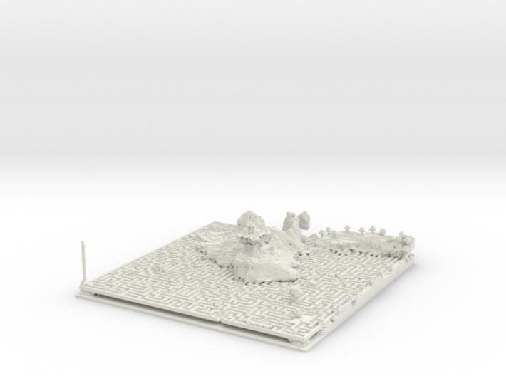 maze draft 3d printed