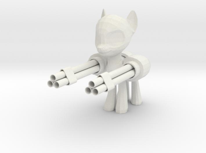 Pony Gatling Gun 3d printed