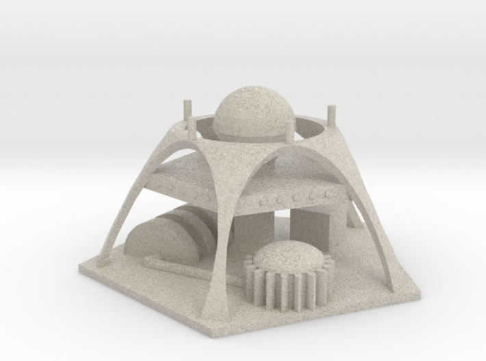 Martian Power Plant 3d printed