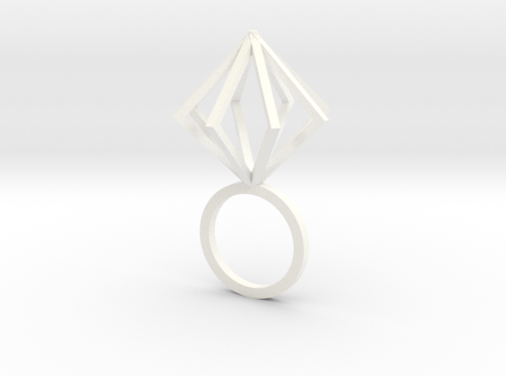 Ring With Box size 9 3d printed