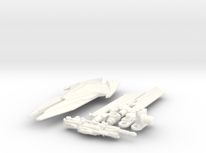 DOTM voyager Sentinel Prime weapon set 3d printed