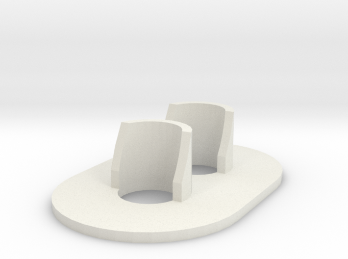 G Scale (1:29) GRS Type D 2 Light Signal 3d printed
