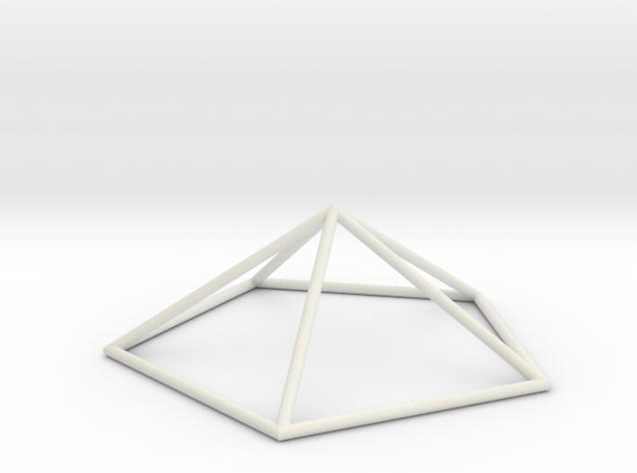 pentagonal pyramid 70mm 3d printed