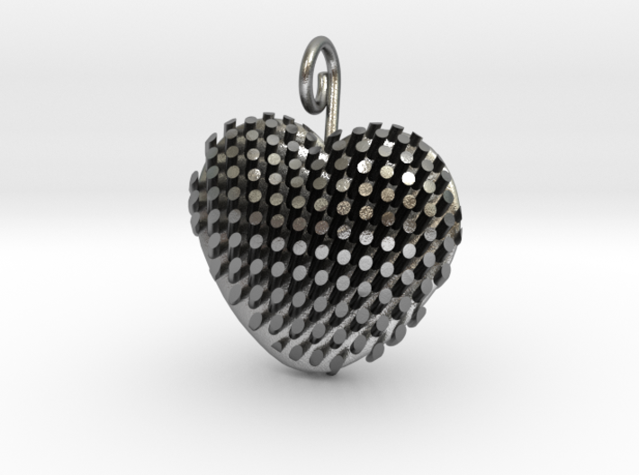 Heart Diagonal Rods V5 3d printed