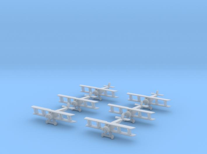 1/350 Fokker D.II (x6) 3d printed