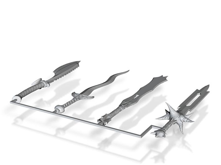 Dagger Set 3d printed