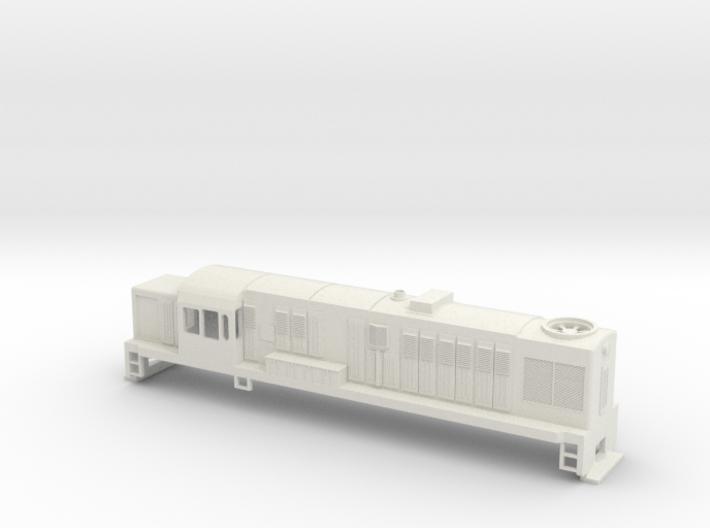DJ Locomotive, New Zealand, (OO Scale, 1:76) 3d printed