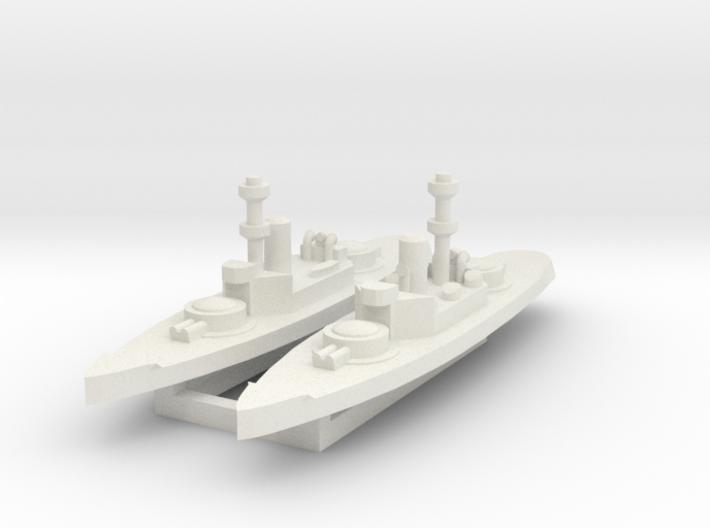 Amphitrite 1:2400 x2 3d printed