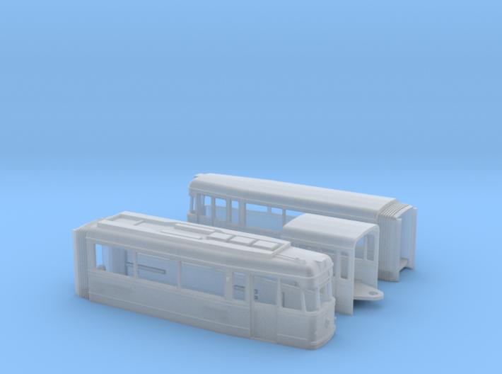 Tram Gotha G4 61 Spur N (1:120) 3d printed