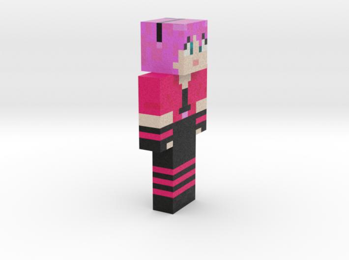 6cm   MinecraftChick 3d printed