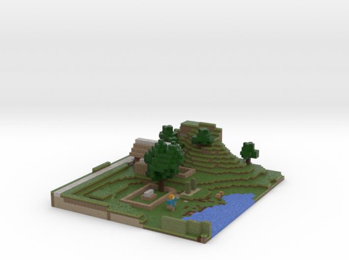 Crazy's Farm 3d printed