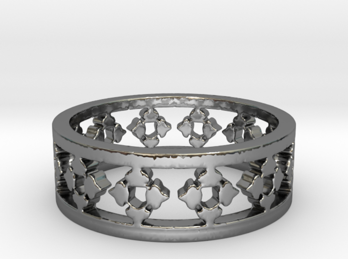 Endless Knight Ring Size 8 3d printed