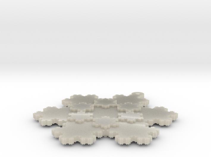 Koch Snowflake - 2 3d printed