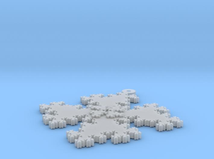 Quadratic Snowflake - 1 3d printed