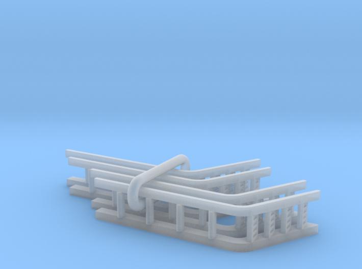 UP Water Tender Pre-Rebuilt (Turbine) Ladders 3d printed