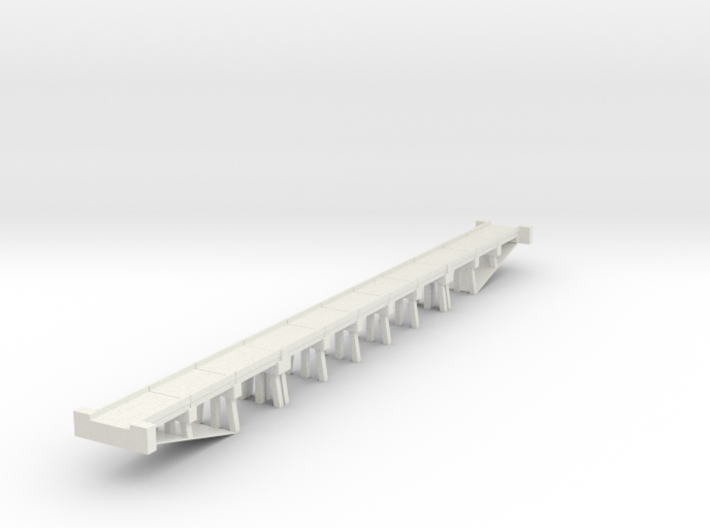Bridge N scale generic medium 3d printed