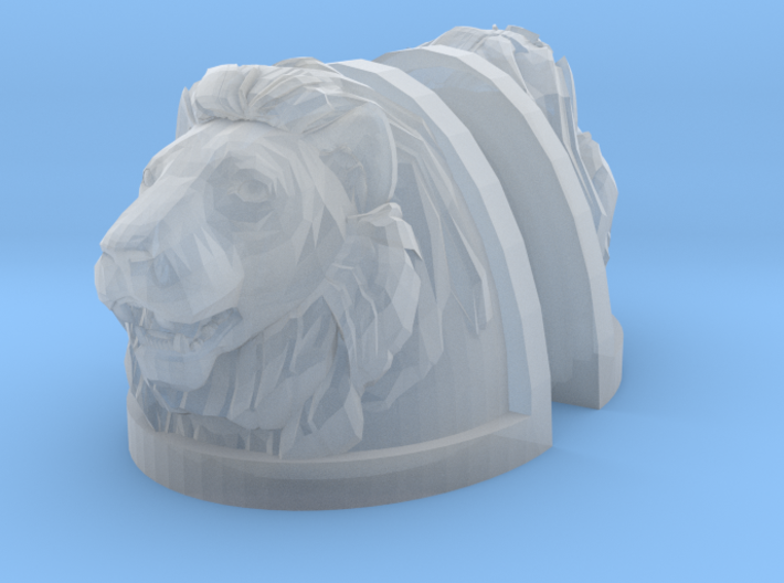 Lion Shoulders Pair (x1) 3d printed