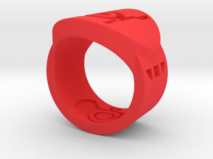 Red FF Sz 5 3d printed