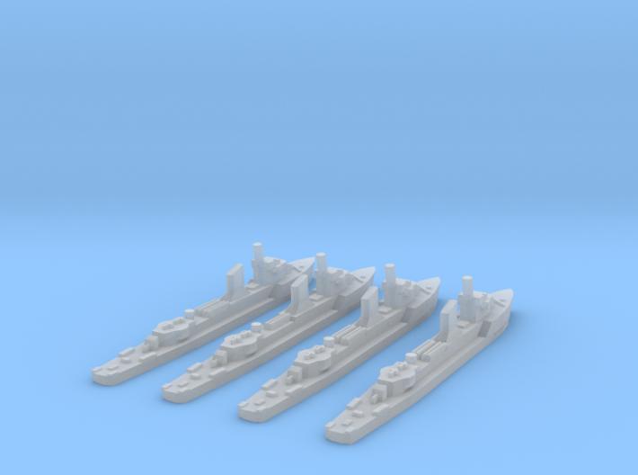German Sleipner class (1/2400) x4 3d printed