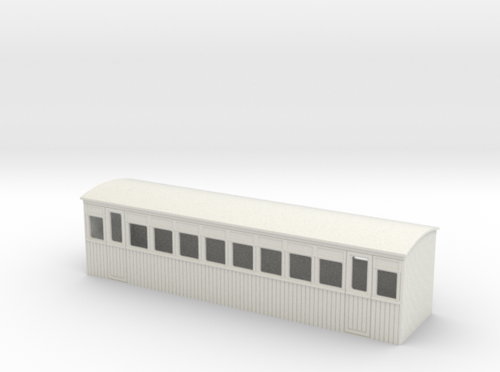 009 colonial 2nd saloon coach 3d printed