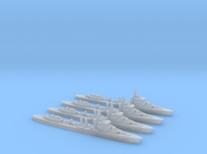 Le Brestois (L'Adroit class) 1/2400 x4 3d printed
