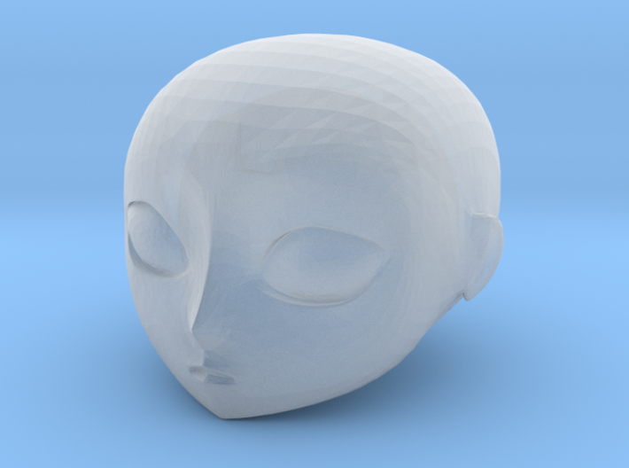 Ersatz MkII Angel Hd Head 3d printed